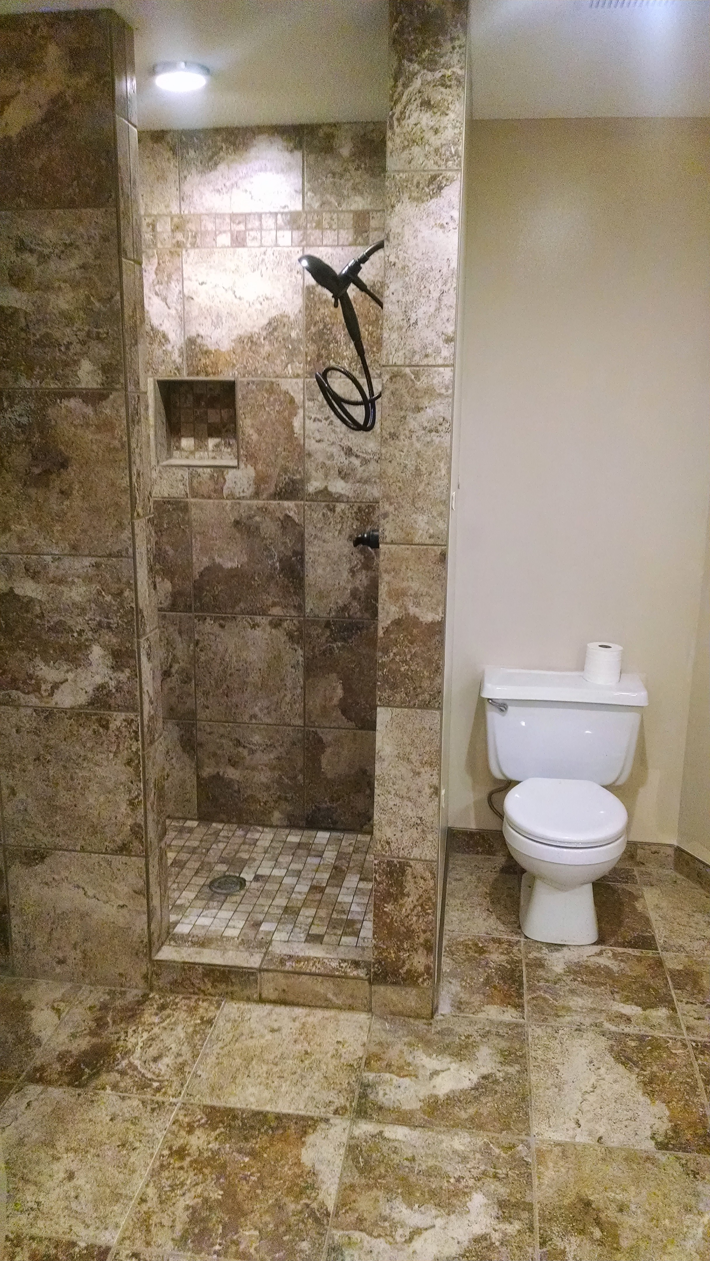 Shower Tile Remodel   Remodeling Bathroom Kansas City Northland ...