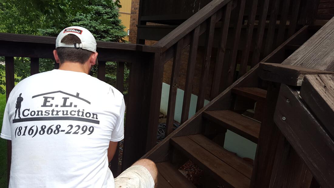 Deck Staining North Kansas City