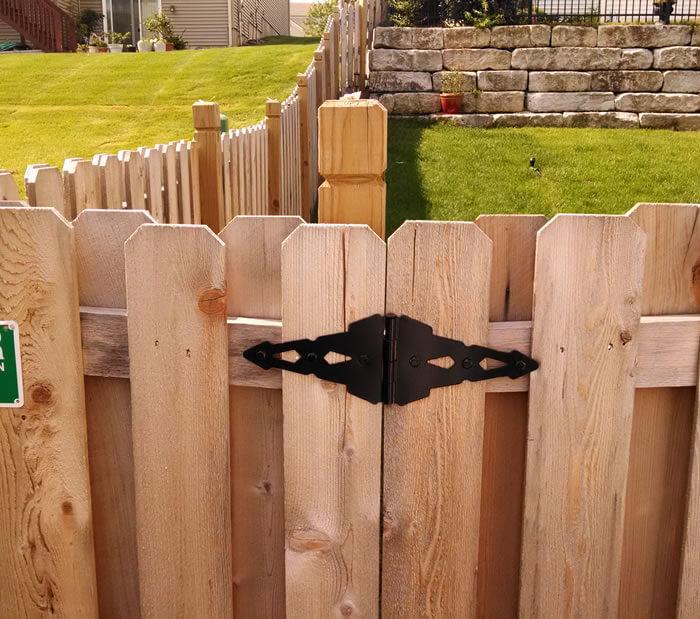 North Kansas City Fence Staining